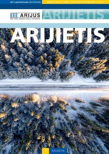 Lapkričio - Gruodžio mėnesių Arijietis