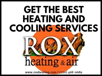 Get the Best Heating and Cooling Services