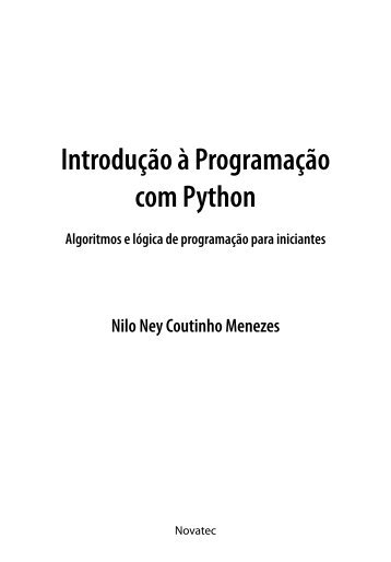 Introdução à Programação com Python - Novatec
