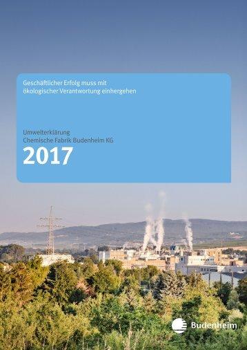 Umwelterklärung 2017