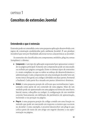 Entendendo componentes do Joomla! - Novatec