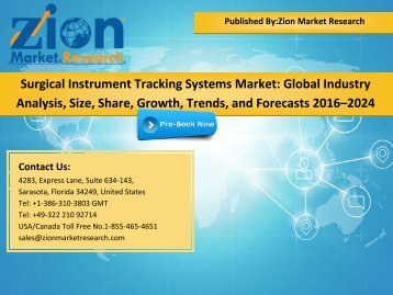 Global Surgical Instrument Tracking Systems Market, 2016–2024