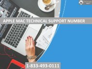 1-833-493-0111 Apple Technical Support Number