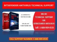 Bitdefender Total Security Support Dial 1-888-909-0535 Customer Service Number