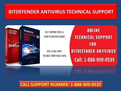Bitdefender Total Security Support Dial 1-888-909-0535 Customer Service Number