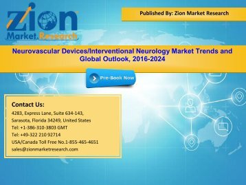 Global Neurovascular Devices Interventional Neurology Market, 2016–2024
