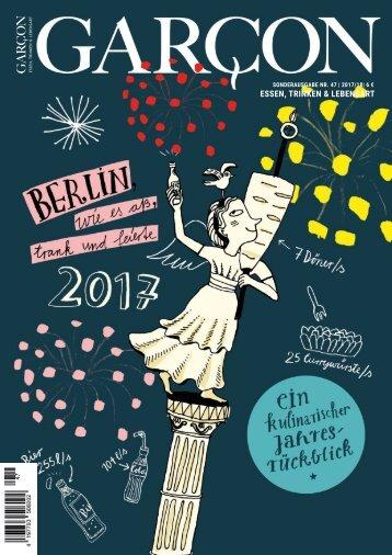 Magazin GARCON - Essen, Trinken, Lebensart Nr. 47