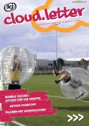 kj cloud.letter  Ausgabe 4/ August 2015