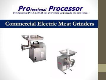 Buy Commercial Meat Grinder Online