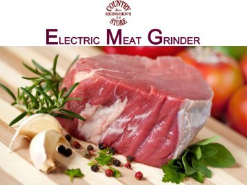 Commercial Electric Meat Grinder Online