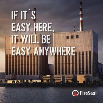 FireSeal Produktfolder land 2017 webb