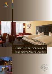 Hotels und Gastronomie 2018