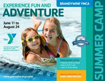Brandywine YMCA - Summer Camp Guide