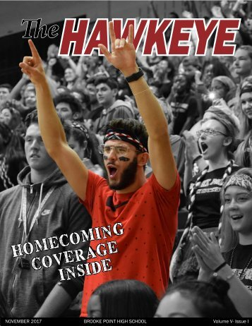 The Hawkeye 17-18 Issue I