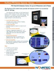 FTS Fixed I/O (Siemens) Series: For up to 34 ... - Novatec, Inc.