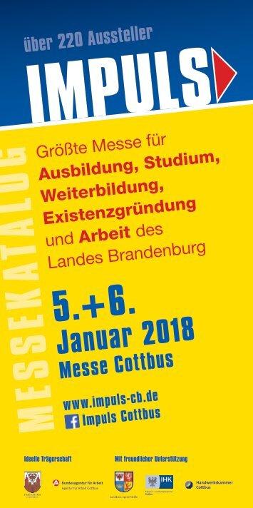 IMPULS Cottbus Messekatalog 2018