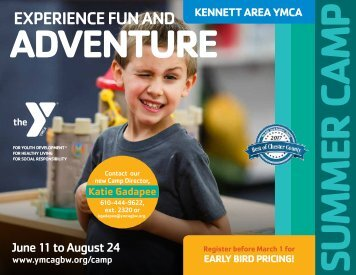 Kennett Area YMCA - Summer Camp Guide