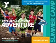 West Chester YMCAs Summer Camp Guide
