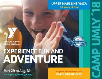 Upper Main Line YMCA - Summer Camp Guide