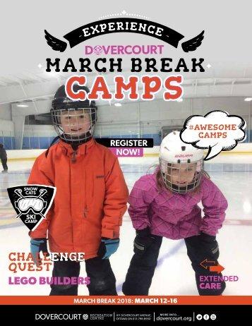 Dovercourt March Break Camps 2018