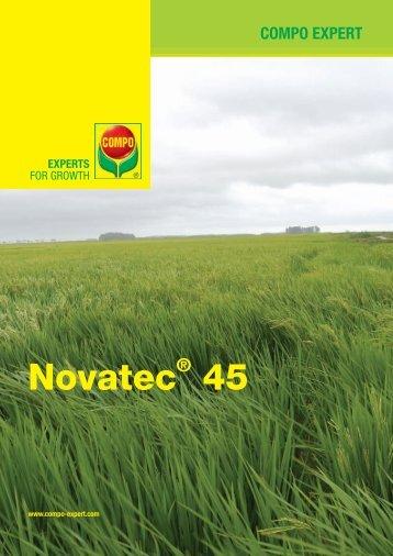 Volante Novatec 45 - agroenfoque.com