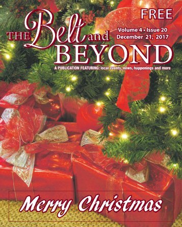 The Belt and Beyond I December 21st, 2017