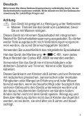 Braun MGK 3040, 3045, 3060 - MGK 3060,  MGK 3045,  MGK 3040 Manual (DE, UK, FR, ES, PT, IT, NL, DK, NO, SE, FI, GR) - Page 5
