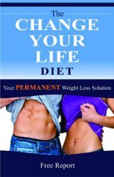 The Change Your Life Diet