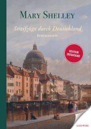 Leseprobe Shelley - Streifzüge durch Deutschland