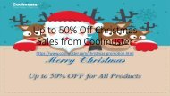 Up to 50% Off Christmas Sales from Coolmuster
