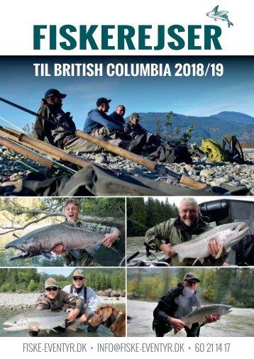 Fiskerejser i 2018 og 2019
