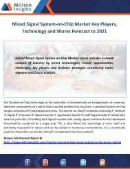 Mixed Signal System-on-Chip Market Key Players, Technology and Shares Forecast to 2021.docx