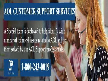 AOL Mail Customer Support Services 18002430019 For Assistance