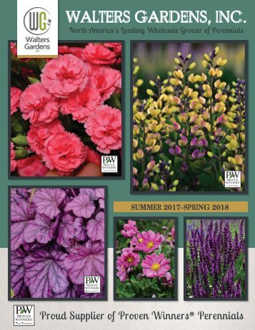 17-18 Walters Gardens Wholesale Catalog