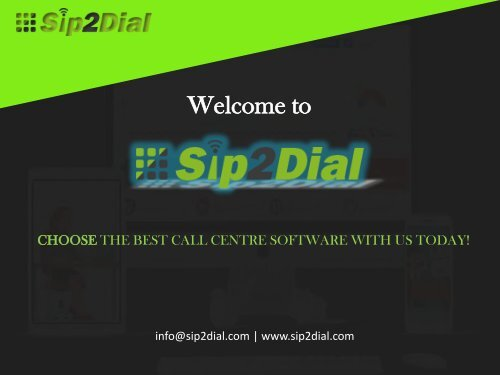 call centre support software