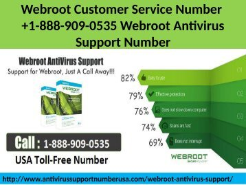 1-888-909-0535 Webroot Customer Service Number