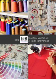 Catalogue T&B Maison 2018