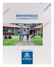 Bienvenid@ a derribar mitos Universidad de La Frontera