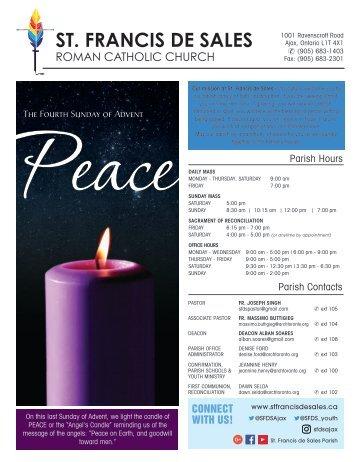 4 Sunday Advent
