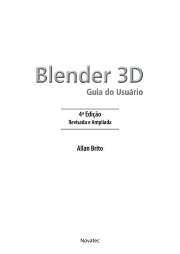 Capítulo 1 Introdução ao Blender - Novatec