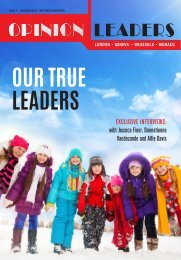 OPINION LEADERS ISSUE 11