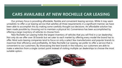 Car Lease Inc New Rochelle