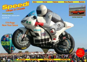 Speedi Wings & Wheels Magazine - December 2017 / January 2018 Issue