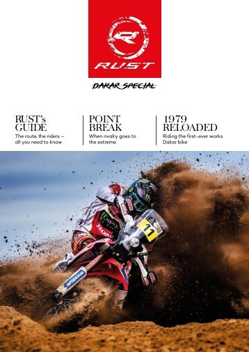 RUST magazine: RUST 2018 Dakar Preview