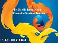 1866-218-2512 Fix Mozilla Firefox Can't Connect to Server or Internet