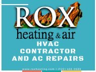 HVAC Contractor and Air Conditioning Repairs