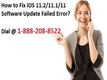 18882088522 How to Fix iOS 11.2/11.1/11 Software Update Failed Error?