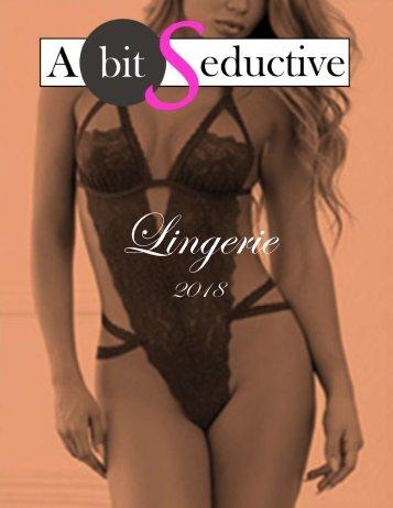 A Bit Seductive 2018 Lingerie Catalog