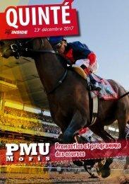 Analyse et programme du quinté pour ce week end PMU 23.12.17