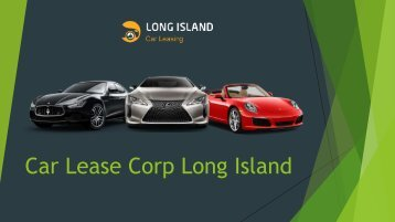 Car Lease Corp Long Island
